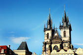 Antique Castle Building in European City of Prague — Stock Photo