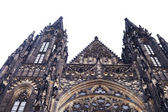 St. Vitus Cathedral's Peaks in Prague — Stock Photo