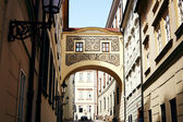 Baroque Passage In Old European City of Prague — Stock Photo