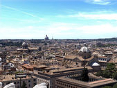 Rooftops of Rome — Stock Photo