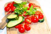 Juicy vegetables — Stock Photo