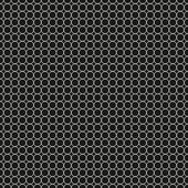 Black and white seamless pattern of circles. — Stock Vector