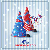 Day of independence. — Stock Vector