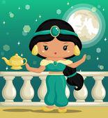 Arabian Princess — Stock Vector