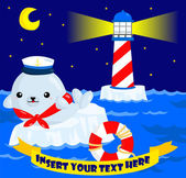 Nautical Seal — Vetorial Stock