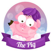 The Pig — Stock Vector