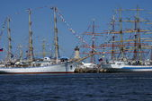 THE BLACK SEA TALL SHIPS REGATTA 2014 — Stock Photo