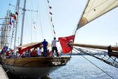 Černého moře vysoký lodí Regata 2014 — Stock fotografie