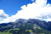 Uitzicht op de pinzgau bergen — Stockfoto