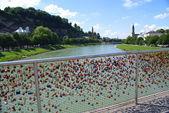 美丽的目的地,在奥地利萨尔茨堡 — 图库照片
