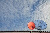 Communications satellite — Stock Photo