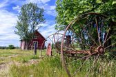 Swedish Countryside — Stock Photo