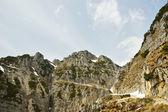 Strada delle 52 gallerie, el camino con 52 túneles, vicenza, veneto, italia — Foto de Stock