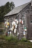 Fishing Shack in York Harbor, Maine — Stock Photo