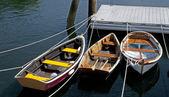 Rowboats Three — Stock Photo