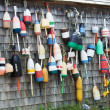 Wall of Lobster Buoys — Stock Photo #51333327