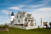 Pemaquid point leuchtturm — Stockfoto