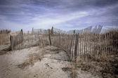 Beach Fence — Stock Photo