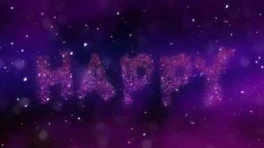 Happy Birthday Loop Video — Vidéo