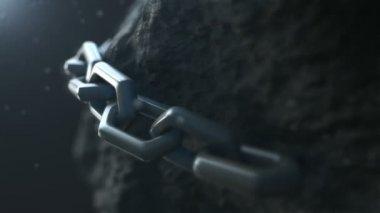 Expolde chain GO! — Stock Video