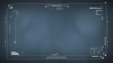 Separado y pantalla de la ventana hitech — Vídeo de Stock