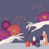 Nail art  — Stock Photo