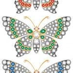 Постер, плакат: Jewelry butterflies