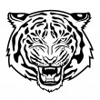 Tiger anger — Stock Vector #50929937
