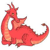 红龙 — 图库矢量图片