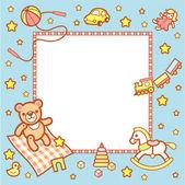 Kid frame — Stock Vector