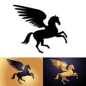 Mythology creature Pegasus — Stock Vector