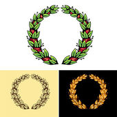 Laurel wreath — Stock Vector