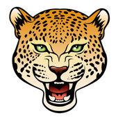 Jaguar head — Stock Vector