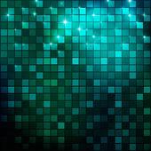 Night mosaic — Stock Vector