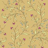 Elegant floral seamless pattern — Stock Vector