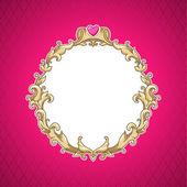 Baroque frame — Stock Vector
