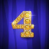 Jewelry number 4 — Stockvektor