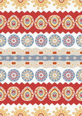 Abstract vector ethnic seamless pattern. Use for wallpaper,patte — Stock Vector