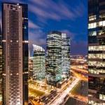 soumrak obchodní město Singapurミステリー ビジネス都市シンガポール — ストック写真 #50962989