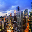 Twilight business stad singapore — Stockfoto #50963001
