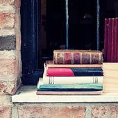 старые книги — Стоковое фото