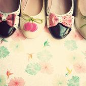 Fashion Vintage Shoes — ストック写真