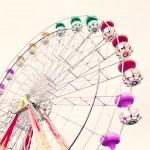 Ferris Wheel. Vintage Carnival — Stock Photo #50551547