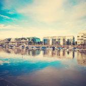 Vintage Sea port — Stock fotografie