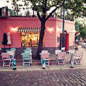 Café-restaurant — Photo