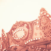 Detail of carousel — Stock Photo