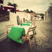 Tienda de café de la vendimia — Foto de Stock