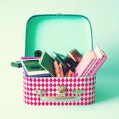 Hipster box — Stock Photo