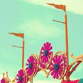 Detail of carousel — Stock Photo