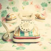 Vintage Telephone — ストック写真
